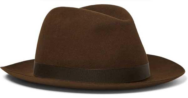 کلاه مردانه برند محبوب Anderson & Sheppard