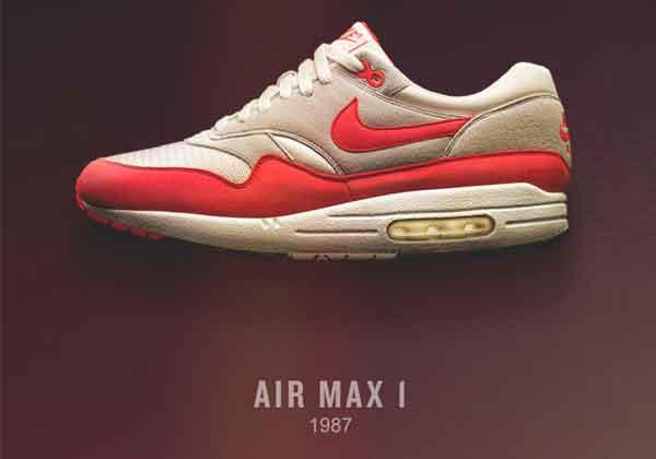 اولین مدل airmax نایک
